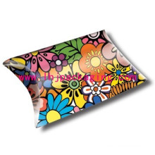 Gift Pillow Box Custom Paper Packaging Pillow Box